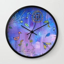 Birds, Birds, Birds Wall Clock