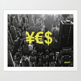 YES NYC Art Print