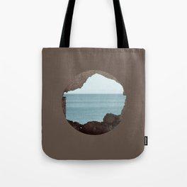 window to sea Tote Bag