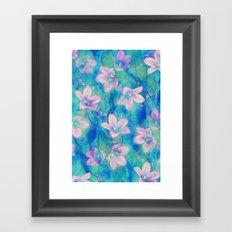 Bellflowers Framed Art Print