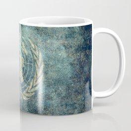 United Nations Flag - Vintage version Coffee Mug