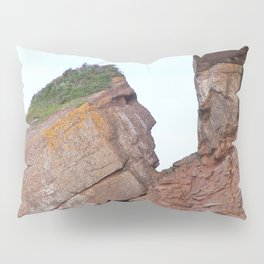 Indian Head Rock Pillow Sham