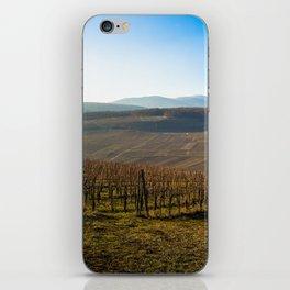 French vineyards 2 iPhone Skin