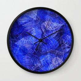 Forest Flora 6 Wall Clock