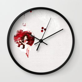 Let music start the Christmas Wall Clock