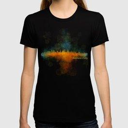 Kansas City Skyline UHq v4 T-shirt