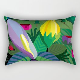 Flowers in Bolinas Rectangular Pillow