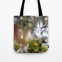 Collage Sunset Tote Bag