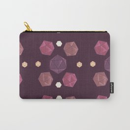 Red and Purple DnD Dice Carry-All Pouch