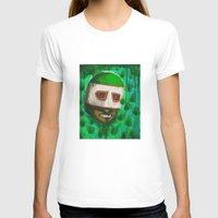 green arrow T-shirts featuring Lucha Libre-green arrow by Antony Wang