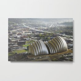 Kansas City - Kauffman Center Miniature Metal Print