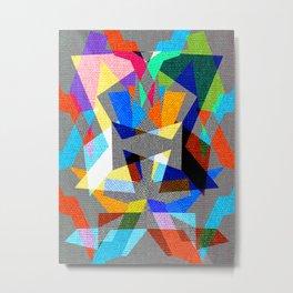 Deko - Art in colors Metal Print