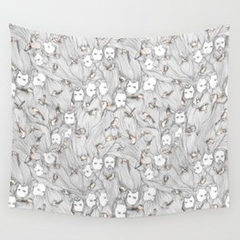 The Birds & The Beards Wall Tapestry