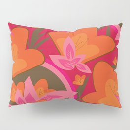 Exotic Flowers Pillow Sham