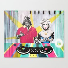 Music Rave Fun Canvas Print