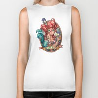 bar Biker Tanks featuring SIREN by Tim Shumate