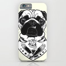 Dog - Tattooed Pug iPhone 6s Slim Case