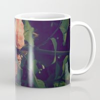 antique Mugs featuring Antique Rose by A Wandering Soul