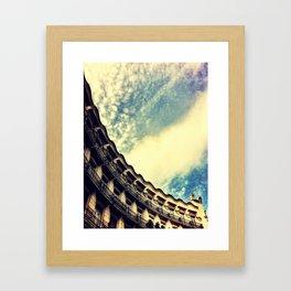 Sky Blue Sky Framed Art Print
