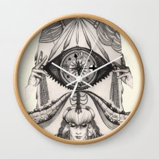 Thoughts Compass Wall Clock