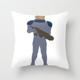 Sontaran Throw Pillow