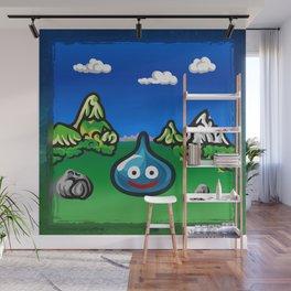 A Slime Draws Near! Wall Mural