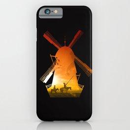 Fighting Giants (dark version) iPhone Case