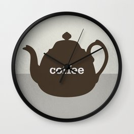 Coffee/Tea Wall Clock