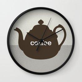 Coffee/Tea Wall Clock