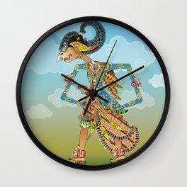 Kamajaya shadow puppet Wall Clock
