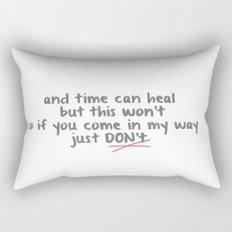 TS Bad Blood Rectangular Pillow
