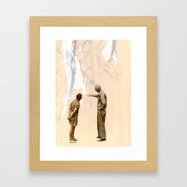Watching Paint Dry Framed Art Print