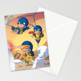 Team Up Stationery Cards