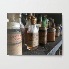 Vintage Prescriptions Metal Print