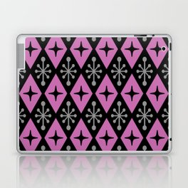 Mid Century Modern Atomic Triangle Pattern 120 Laptop & iPad Skin