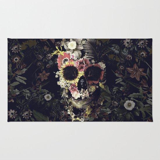 Garden Skull Rug
