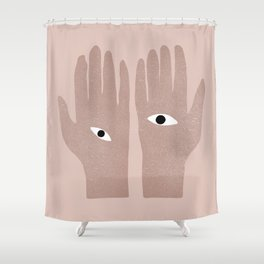 Eye See You. Shower Curtain