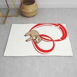 German Valentine Gift Ich mag es zeit mit dir zu verbringen design Rug