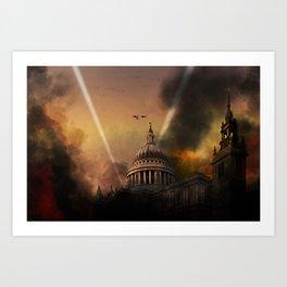 St. Pauls Cathedral - Defiance Art Print