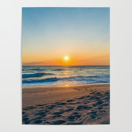 Canaveral National Seashore Sunrise Poster