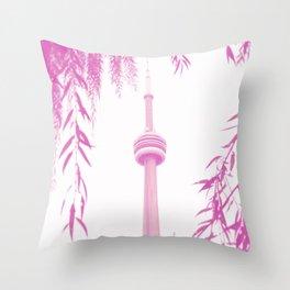 CN Tower II Throw Pillow