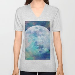 Moon + Stars Unisex V-Neck