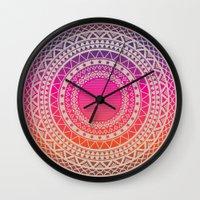 writing Wall Clocks featuring Secret writing by Gal Ashkenazi