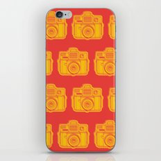 I Still Shoot Film Holga Logo - Reversed Yellow & Red iPhone Skin