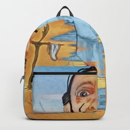 The Persistence of Dali Backpack