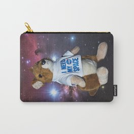I need my space plush kangaroo Carry-All Pouch