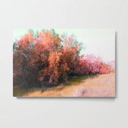 Spring pink landscape Metal Print