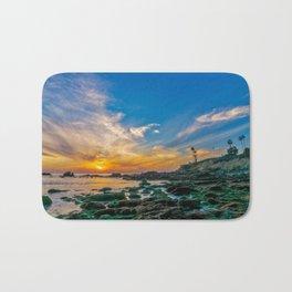 Low Tide Laguna Sunset Bath Mat