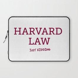 Harvard Law Laptop Sleeve