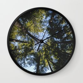 Vancouver Tree Tops Wall Clock